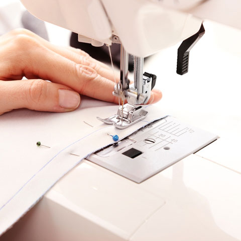 Sewing-with-a-sewing-machine